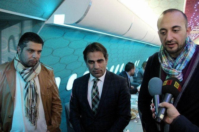Airbus Cafe Basın Mensuplarını Ağırladı