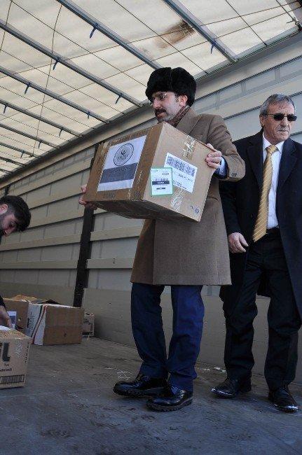 AK Parti Kars İl Başkanlığı'ndan Bayırbucak Türkmenlerine Anlamlı Yardım