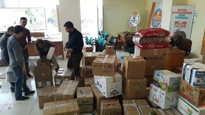 Yardım Tırları Bayırbucak Türkmenleri İçin Yola Çıktı
