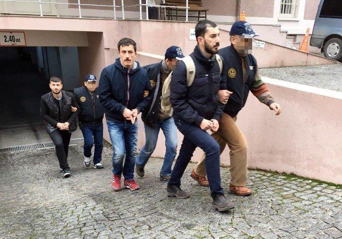 Terör Propagandası Yapan Altı Kişi Tutuklandı