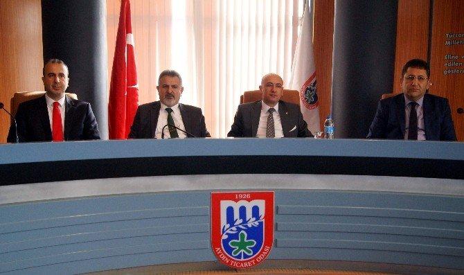 Aydın'da Kamu Ve Özel Sektörün Mesleki Yeterlilik Hamlesi Sürüyor