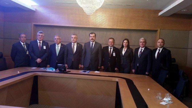 Ayso, Aydın Milletvkillerini Meclis'te Ziyaret Etti
