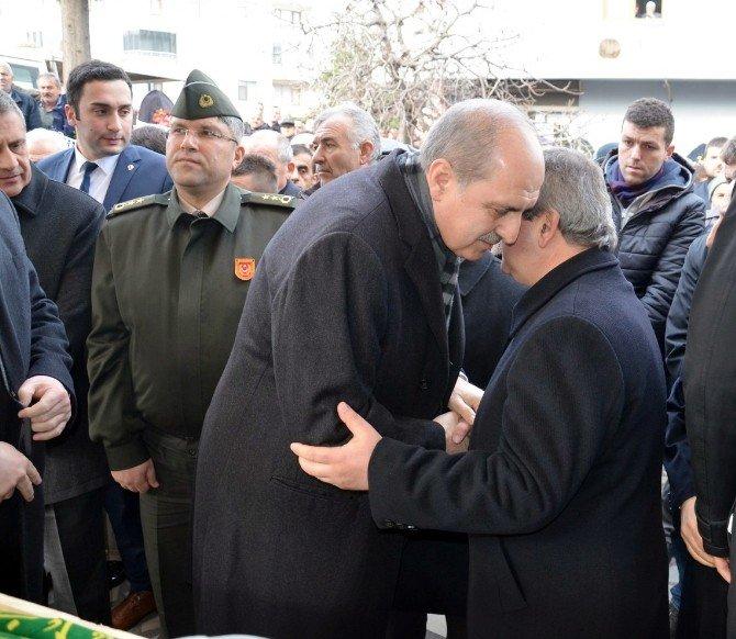 Başbakan Yardımcısı Kurtulmuş Fatsa'da Cenaze Törenine Katıldı