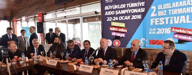 Judo Ve Buzun Kalbi Erzurum'da Atacak