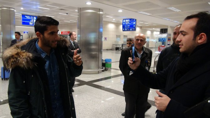 Beşiktaş'la anlaştığı söylenen Aras Özbiliz İstanbul'a geldi