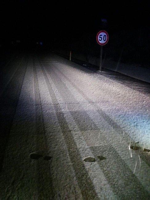 Bilecikte Beklenen Kar Yağışı Başladı