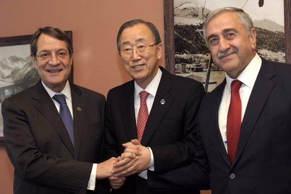 Davos'ta üçlü Kıbrıs zirvesi sona erdi