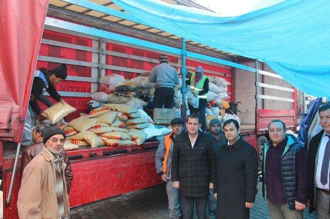 Bucak'tan Bayır Bucak Türkmenlerine Yardım Eli