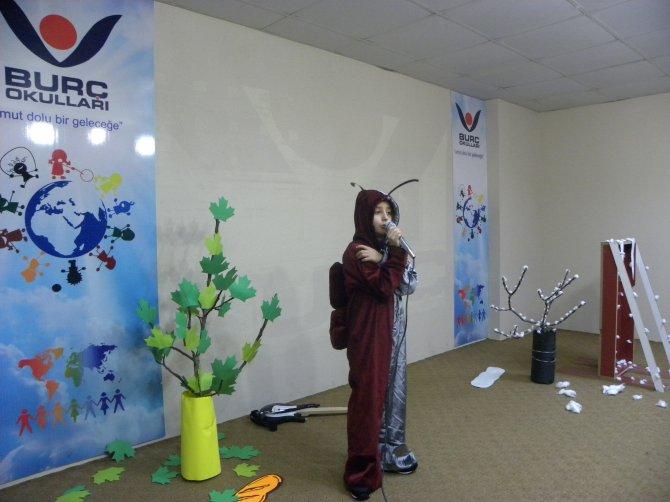 Kozan Burç ilkokulunda masal yarışması düzenlendi