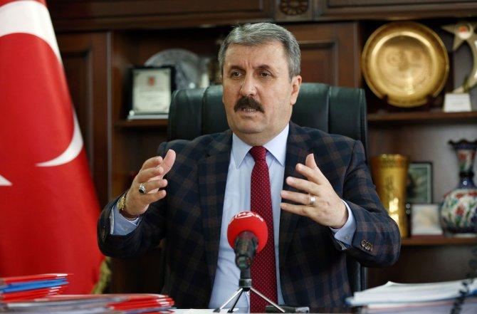 Destici: Cumhurbaşkanı muhalefetle bir söz dalaşına girmemeli