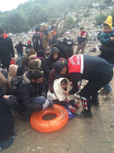 Jandarma 2 Günde 2 Bin Kaçak Göçmeni Yakaladı