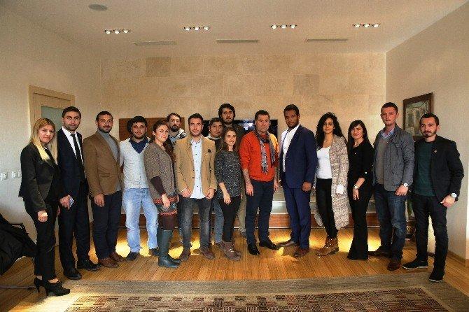 CHP Bodrum Gençlik Kollarından Başkan Kocadon'a Ziyaret