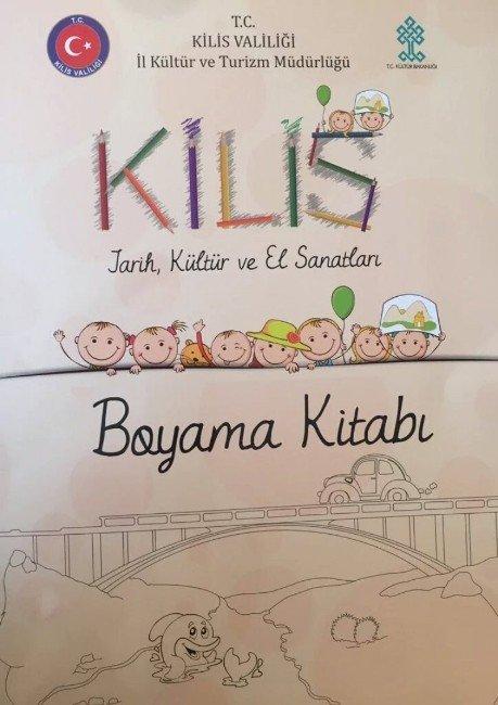 Valilikten Çocuklara 'Kilis Boyama Kitabı'