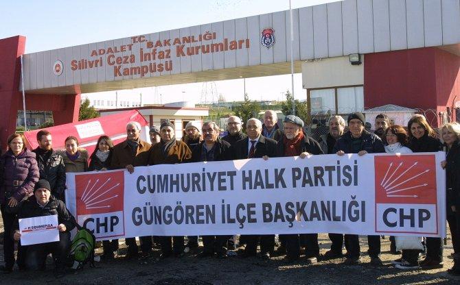 CHP'li heyet umut nöbeti tuttu