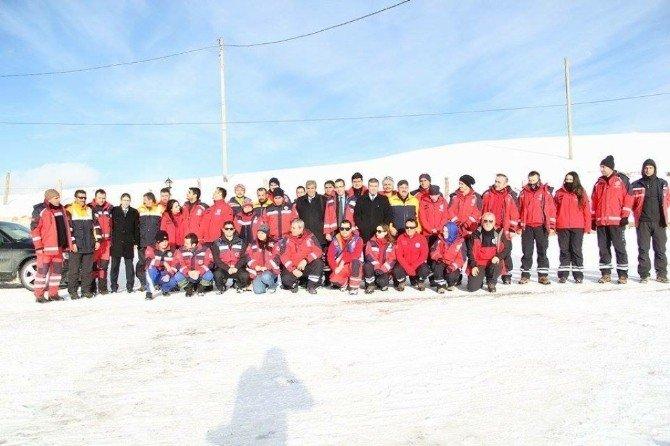 Yılın İlk UMKE Eğitim Kampı Zigana'da Yapıldı