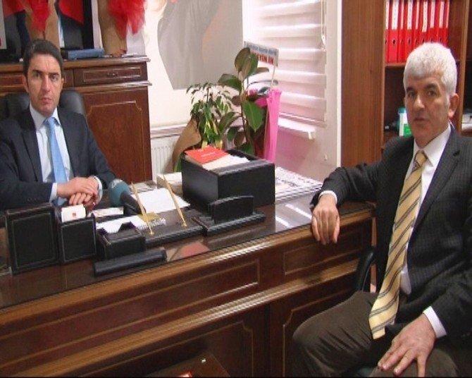 Ege Bölgesi Malatyalılar Derneği Başkanı Nüvit Ateş'den AK Parti Ve CHP'ye Ziyaret