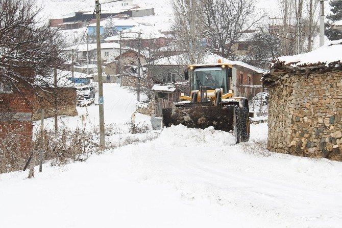 Eskişehir'de Karla Mücadele Çalışmaları