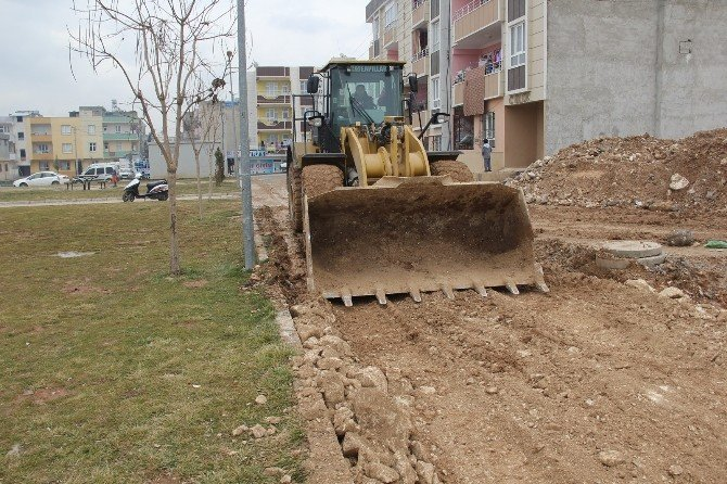 Eyyübiye Belediyesi Yeni Yol Açma Çalışmalarına Devam Ediyor
