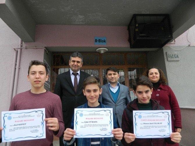 TEOG Türkiye Birincisi Kenan Evren Ortaokulundan