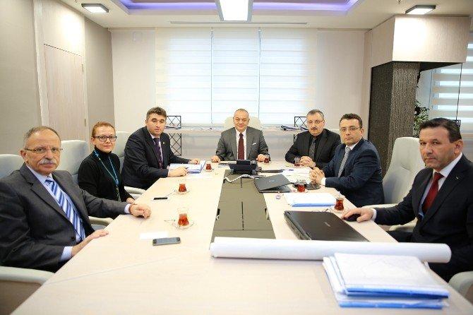 Başkanlar Kula'nın Projelerini Konuştu