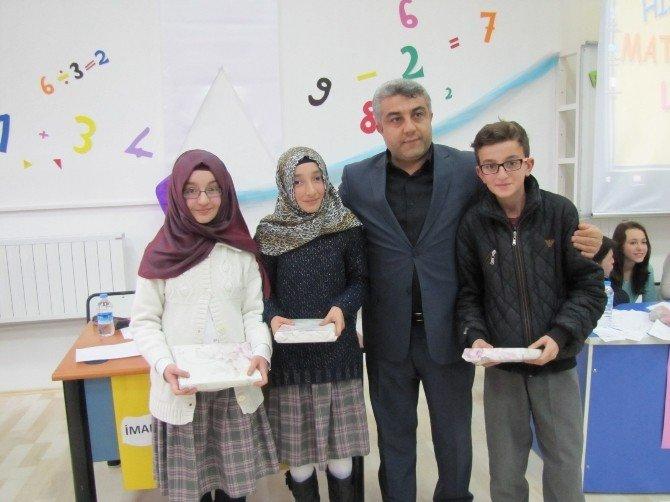 Hisarcık'ta Matematik Ligi Yarışması