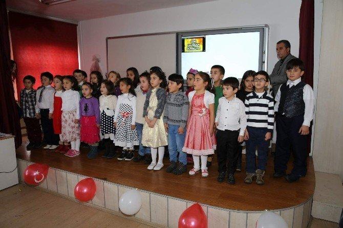 Yozgat Sakarya İlkokulu Birinci Sınıf Öğrenci Okuma Bayramı Yaptı