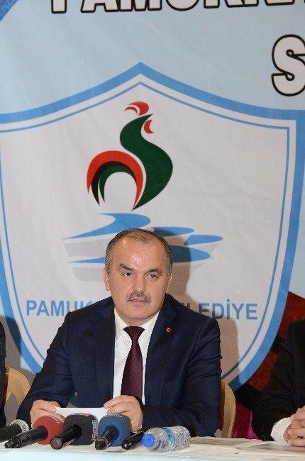 Pamukkale Belediyesi'nde Milli Sevinç