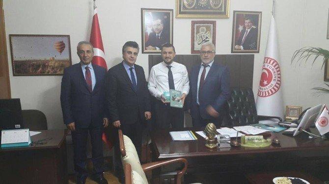 Rehberler Odası Başkanı Yılmaz Milletvekillerini Ziyaret Etti