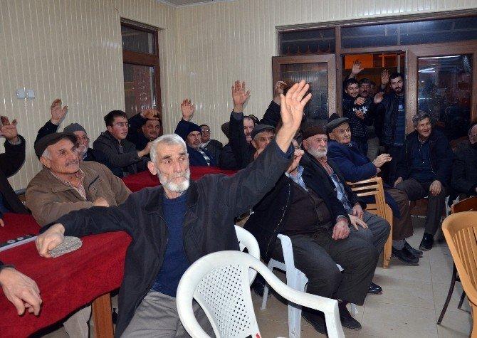Arazilerin Satışına Karşı Çıkan Vatandaşlar Eylem Kararı Aldı