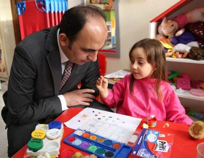 Başkan Altay'ın Okul Ziyaretleri Sürüyor