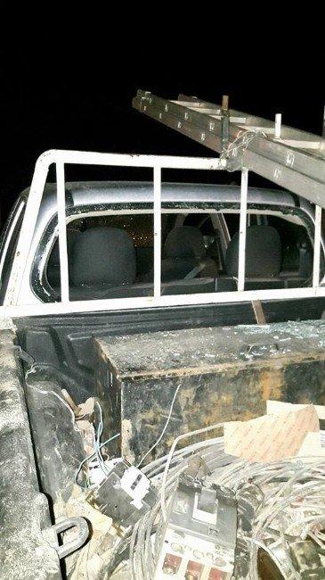 Şırnak'ta Polis Aracına Roketatarlı Saldırı