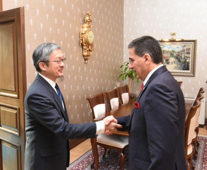 Tayvan Büyükelçisi Hatay'da