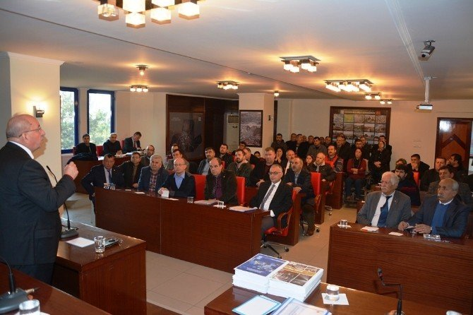 Tekirdağ Toplu Ulaşım Sisteminin Çalışma Toplantısının 2.si Çerkezköy'de Yapıldı