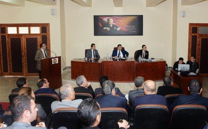 Tunceli'de Koordinasyon Kurulu Toplantısı Yapıldı