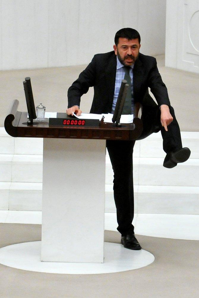 TBMM'de 'pahalı ayakkabı' tartışması