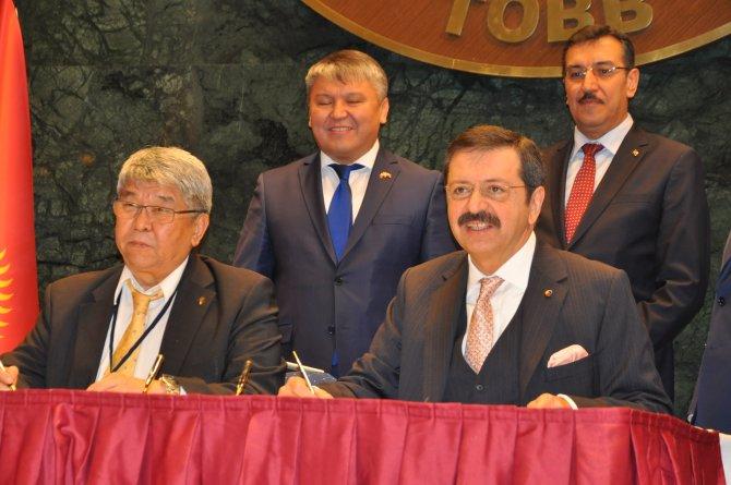 Türk-Kırgız işadamlarından işbirliği imzası