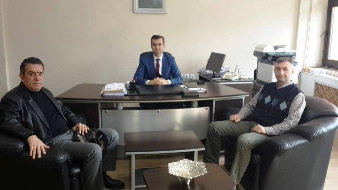 Türkiye Okçuluk Federasyonu Başkanı Topaloğlu'ndan Bekyürek'e Ziyaret
