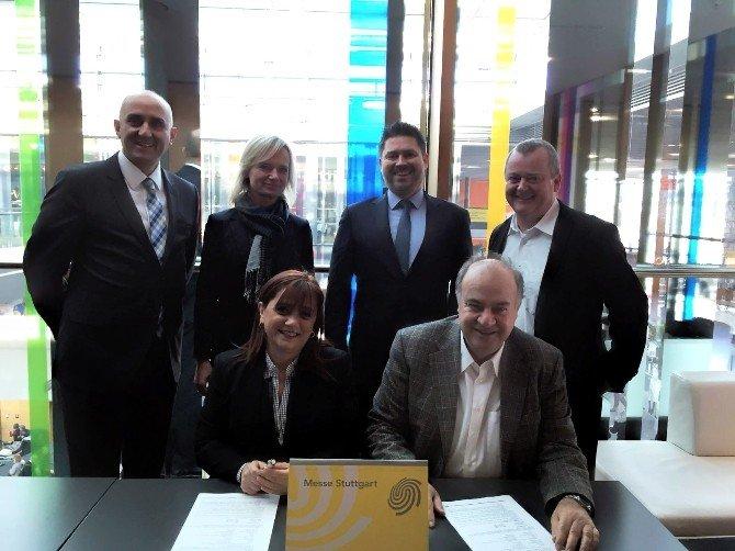İzfaş Ve Messe Stuttgart Protokol İmzaladı