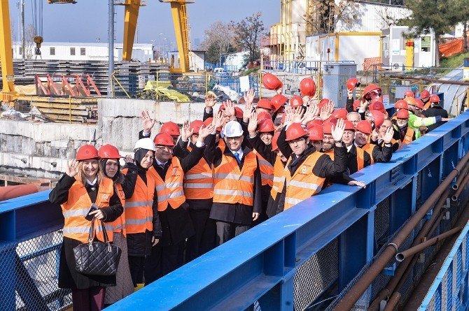 Başkan Türkmen, Avrasya Tüneli Projesi'ni Yerinde İnceledi