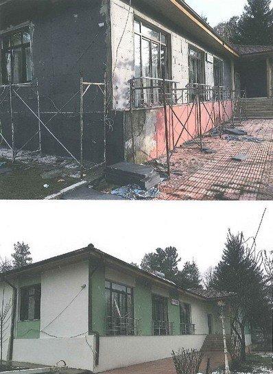 Yığılca'da Ormana Ait Binalar Baştan Sona Yenilendi