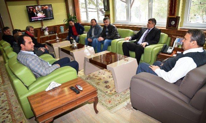 Başkan Çerçi Marangozlar Odasını Ağırladı
