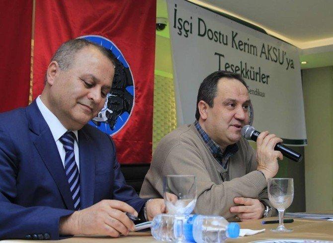 Giresun Belediyesi İle Belediye İş Sendikası Arasında Toplu Sözleşmeye İmza Atıldı