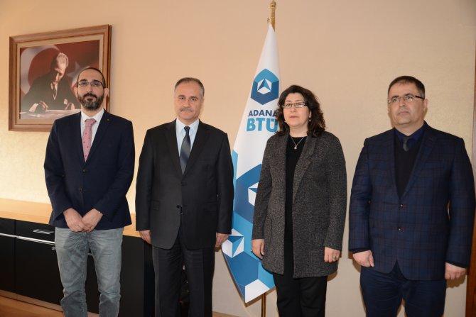 Adana BTÜ'de yeni dekanlar görevlerine başladı