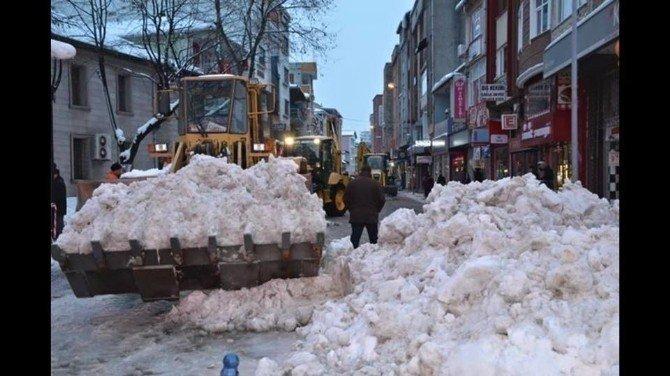 Alaplı Belediyesi Karla Mücadeleye Hazır