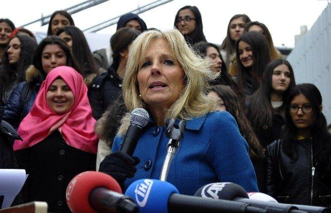 Joe Biden'ın Eşi Jill Biden, Karne Törenine Katıldı
