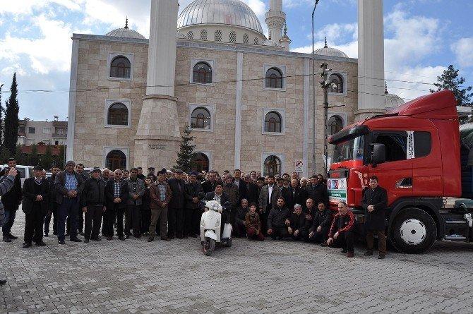 Diyanet-sen UN Yüklü Tır'ı Bayırbucak Türkmenlerine Gönderdi