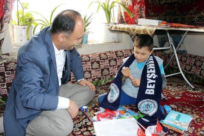 Erdoğan Hayranı Engelli Öğrencinin Karne Heyecanı