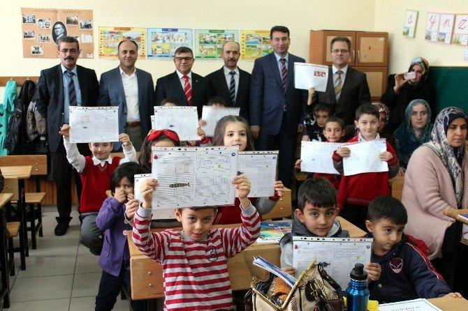 Beyşehir'de 14 Bin 90 Öğrenci Karne Aldı
