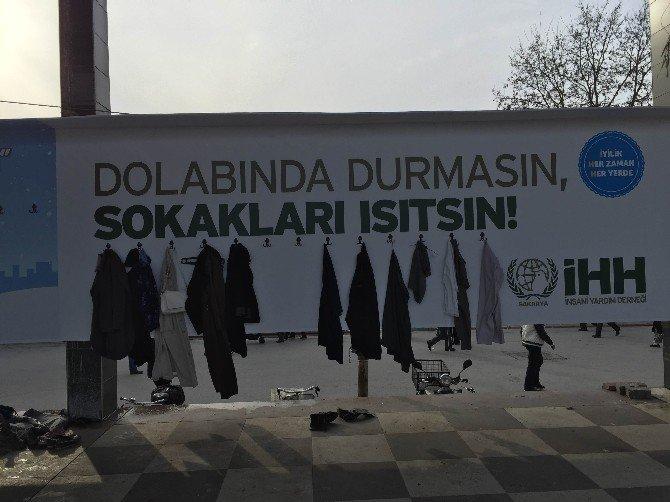 Sakarya'da 'Dolabında Durmasın, Sokakları Isıtsın' Projesi Başladı