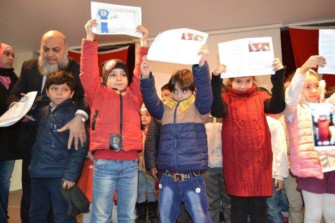 Suriyeli Çocukların Karne Heyecanı